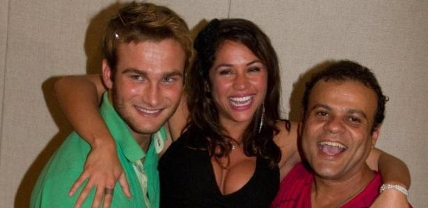 Wesley, Maria e Daniel, do BBB