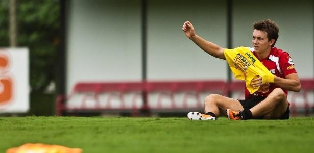 Dagoberto tem contrato até abril de 2012. São Paulo quer renovar - Danilo Verpa/Folha Imagem