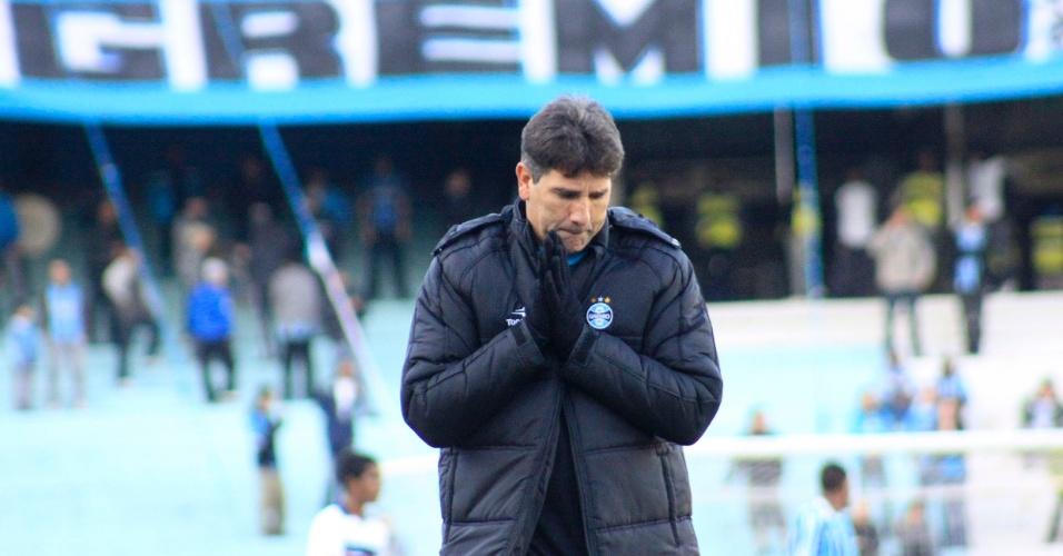 Renato Gaúcho, técnico do Grêmio em vitória contra o Bahia (05/06/2011)