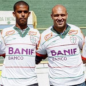 Leandro Silva, Renato, Edno e Thiago Silvy são apresentados na Portuguesa (06/06/2011)