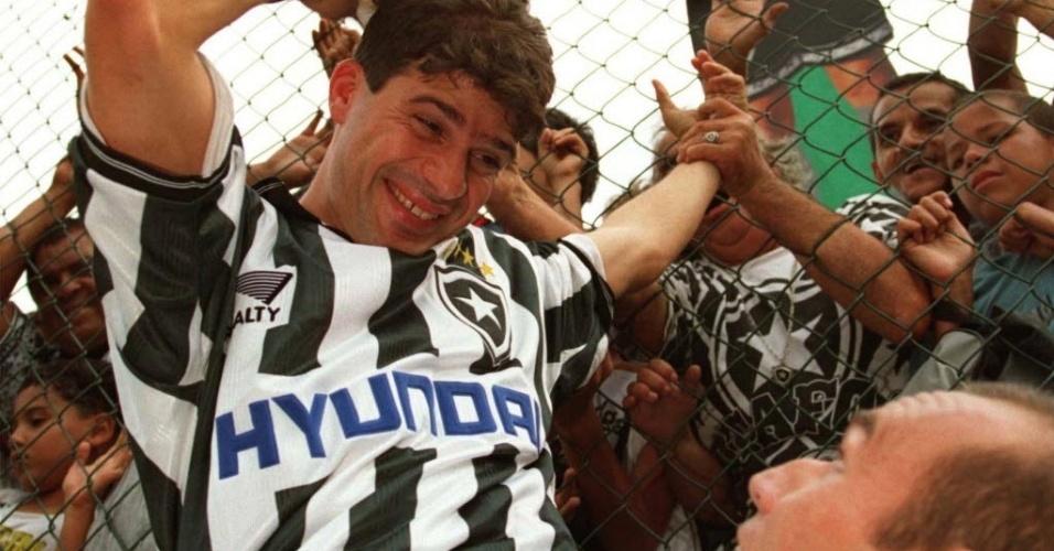 Túlio maravilha aclamado pelo povo nos tempos de Botafogo