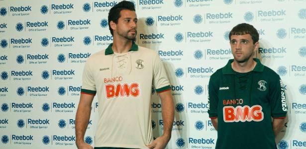 4aa9a575eb Cruzeiro homenageia Palestra Itália e adota o verde em seu 3º ...