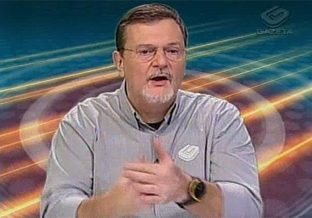 Chico Lang, comentarista da TV Gazeta