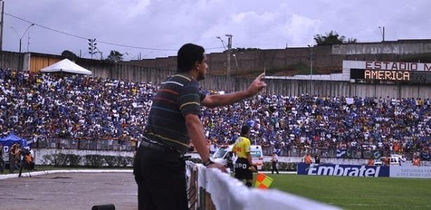 Mauro Fernandes conseguiu o acesso para a Série A pelo América-MG, em 2010