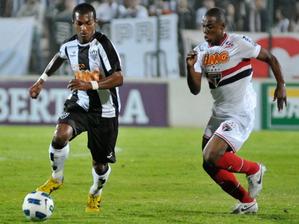 Richarlyson, do Atlético-MG, e Wellington, do São Paulo