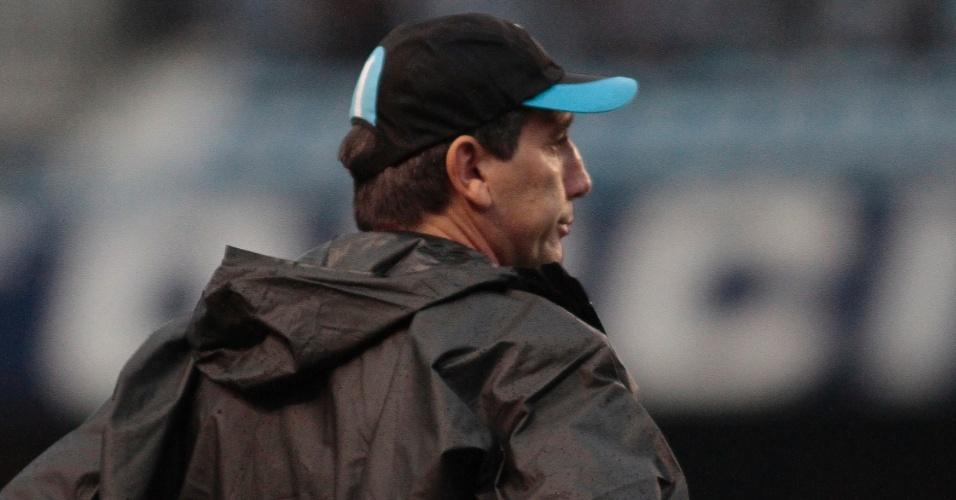 Renato Gaúcho, técnico do Grêmio, em empate contra o Vasco, no Olímpico (10/06/2011)