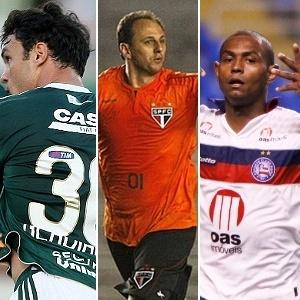 Kleber, Rogério Ceni e Jobson disputam melhor da 5ª rodada do Brasileiro