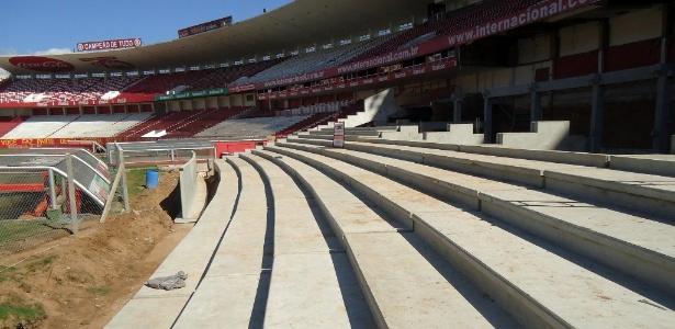 Para retomar obras do Beira-Rio, Inter precisa aprovar contrato no conselho deliberativo