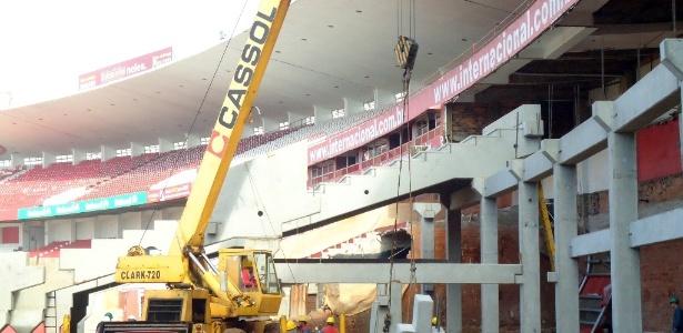 Beira-Rio completa 250 dias sem obras e Inter cogita encerrar negócio com a AG