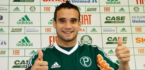 Maikon Leite é o grande reforço apresentado pelo Palmeiras em 2011