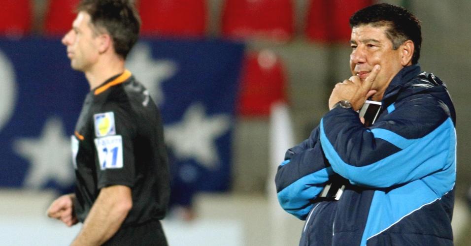 Joel Santana em sua estreia no Cruzeiro (25/6/2011)
