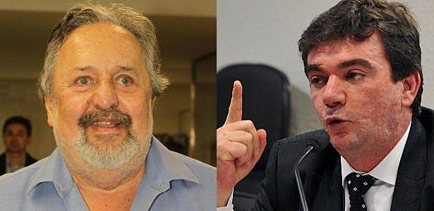 Luis Álvaro e Andrés Sanchez são presidentes de Santos e Corinthians e amigos