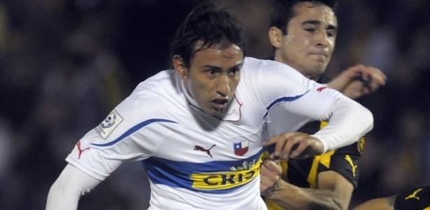 Meia Marcelo Cañete, do Boca Juniors, que está emprestado ao Universidad Catolica, do Chile (29/06/11)