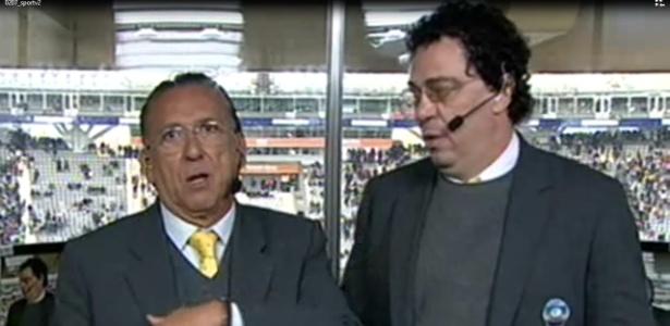 Galvão comenta jogo do Brasil com Casagrande