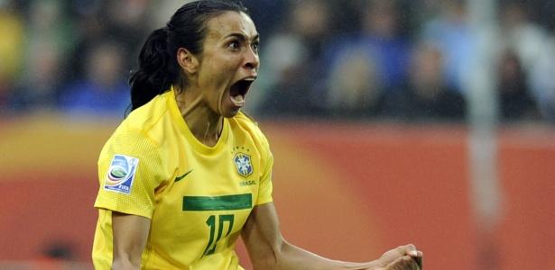 Eleita por cinco vezes consecutivas a melhor jogadora do mundo, Marta busca título importante pelo Brasil