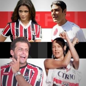 Selo para Dez são-paulinos ilustres da TV brasileira