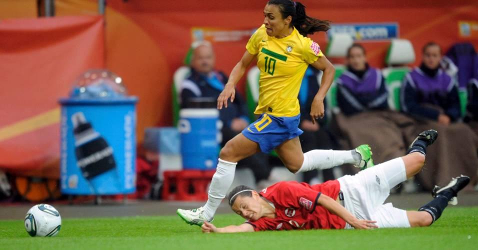 Marta é mais uma vez a grande aposta do Brasil para mais uma vitória no mundial
