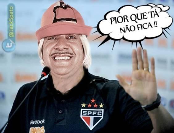 Internautas criam charge com Tiririca como técnico do São Paulo