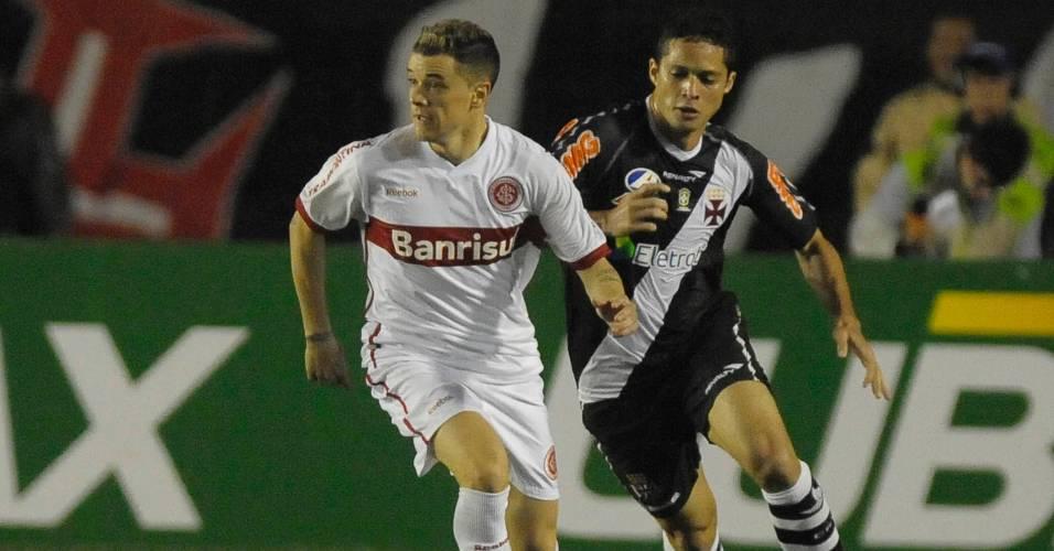 D'Alessandro não repetiu grandes atuações pelo Inter diante do Vasco (08/07/11)