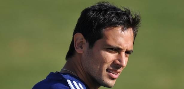 Roque Santa Cruz, jogador do Paraguai