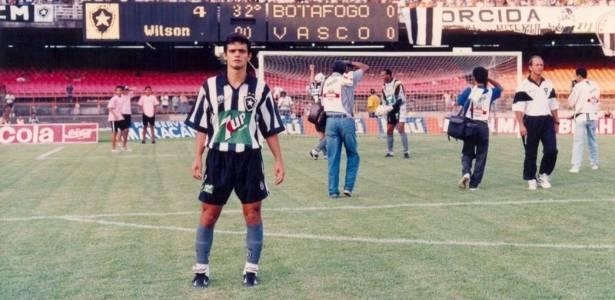 Wilson Goiano pouco antes de um clássico entre Botafogo x Vasco no Maracanã