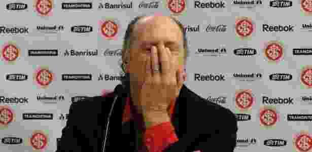 Falcão disparou contra presidente do Inter e diz que não era desejado no comando - Carmelito Bifano/UOL Esporte