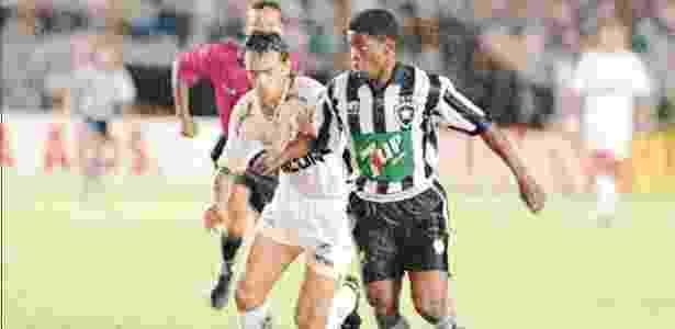 Beto passou a ser conhecido no futebol brasileiro após passagem pelo Botafogo - Folha Imagem