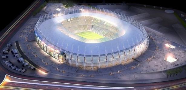 O Castelão vai receber, pelo menos, seis jogos da Copa do Mundo, e até dois do Brasil