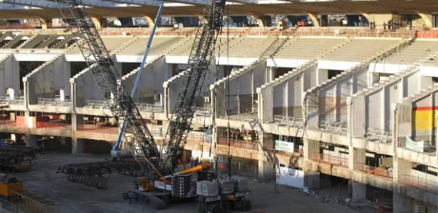 Procurador quer que as obras no estádio sejam paralisadas já na semana que vem