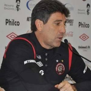 Técnico do Atlético-PR, Renato Gaúcho