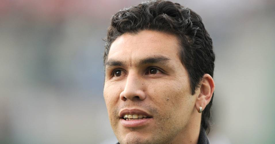 Cabañas foi visto na Argentina no dia da estreia do Paraguai na Copa América (13/07/2011)