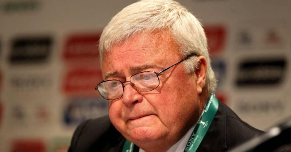 Ricardo Teixeira, presidente da CBF