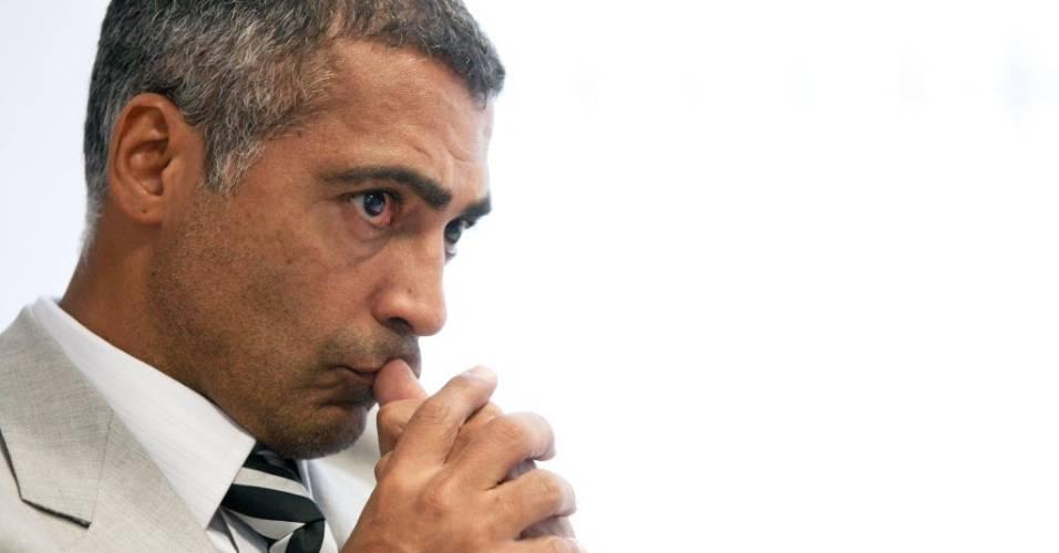 Romário, deputado federal pelo PSB
