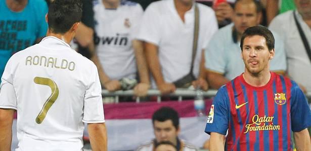 Novo duelo entre Cristiano Ronaldo e Messi começa neste fim de semana no Espanhol - Andres Kudacki/AP