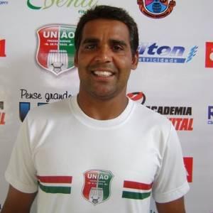 Fabiano Souza, ex-jogador do Inter, em seu último clube, União Frederiquense