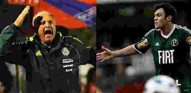 Felipão e Kleber protagonizaram briga feia em reunião na Academia de Futebol - Almeida Rocha/Folhapress e Junior Lago/UOL