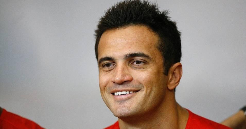 Falcão, atleta do futsal do Santos