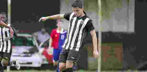 Jean Chera foi a estrela da base do Santos de 2005 a 2011 - Arquivo pessoal/Jean Chera