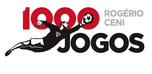 São Paulo divulga a marca criada para o jogo 1000 de Rogério Ceni (03/09/2011)