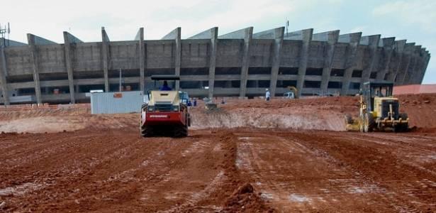 Obras do Mineirão já estão mais de 30% concluídas, segundo cronograma inicial