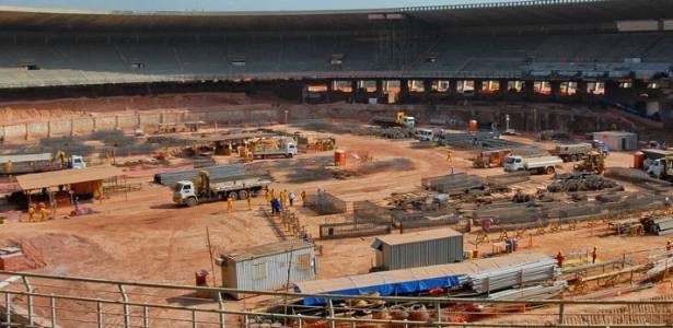 Obras do Mineirão, em Belo Horizonte, serão concluídas em 2012, sem atrasos