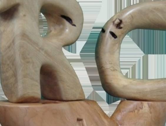Escultura em homenagem ao goleiro Rogério Ceni, do São Paulo