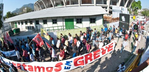 Trabalhadores da Copa partem para ações integradas em nome de suas reivindicações