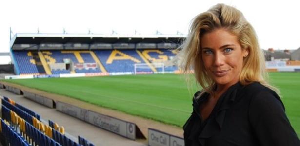 Carolyn Still é a chefe executiva do Mansfield Town, clube da quinta divisão inglesa