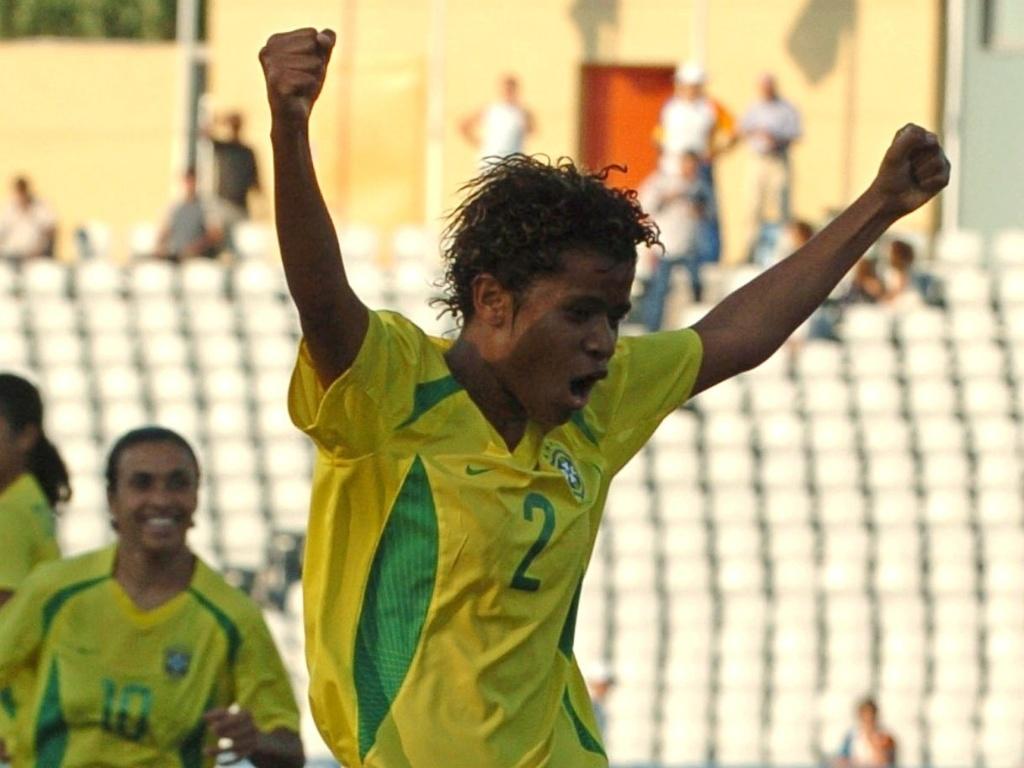 Grazielle está entre as jogadoras brasileiras convocadas para o Pan