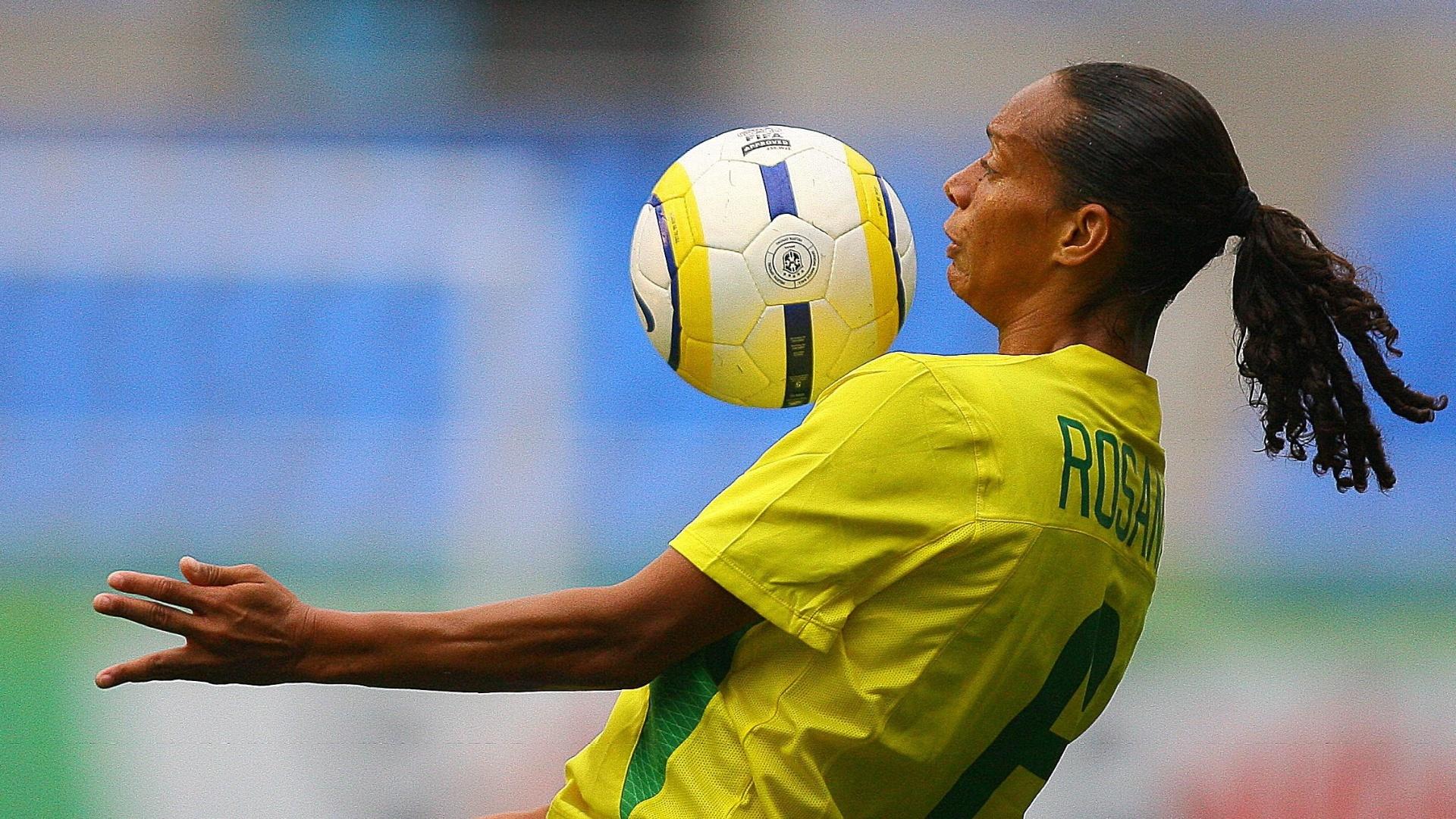 Rosana está entre as jogadoras brasileiras convocadas para o Pan