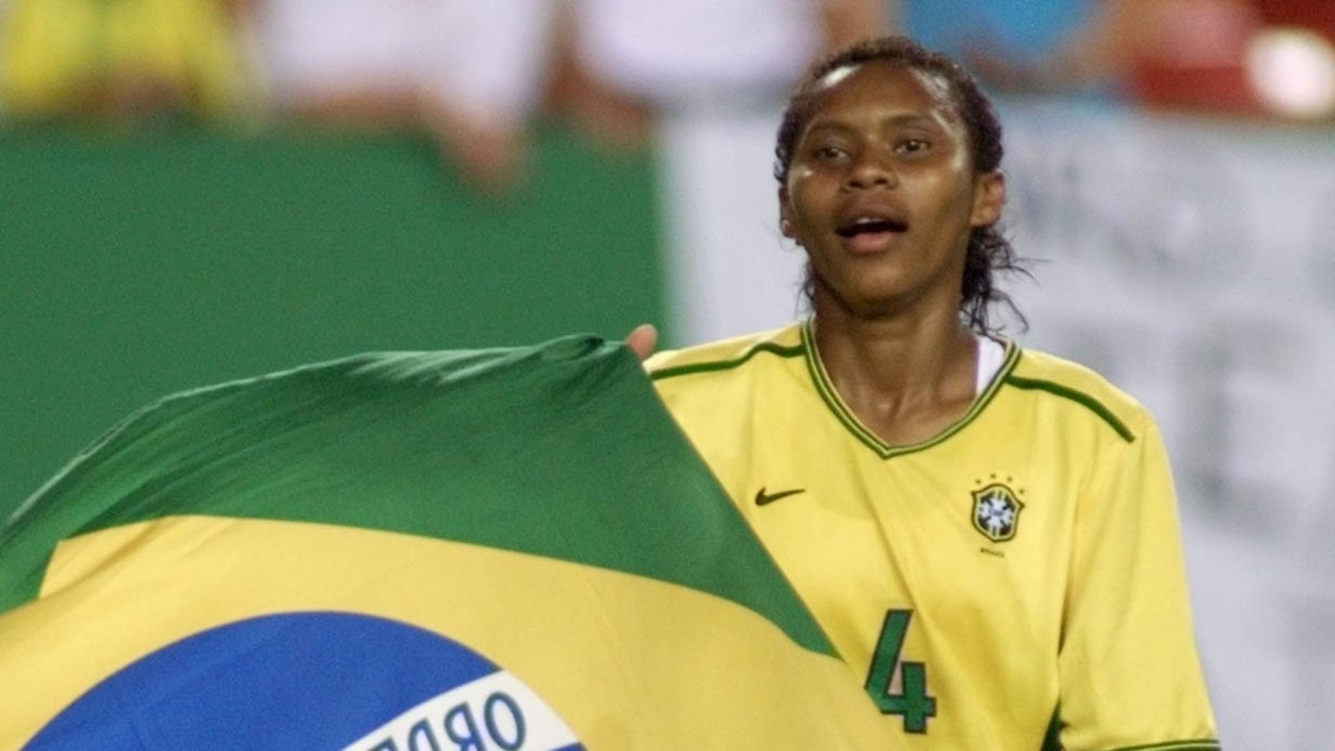 Tânia está entre as jogadoras brasileiras convocadas para o Pan