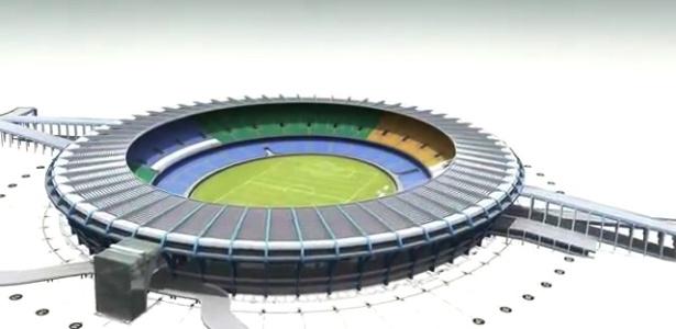 Estádio do Maracanã só receberá a seleção brasileira na Copa-14 se a equipe for à final