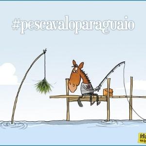 Charge: #pescavaloparaguaio