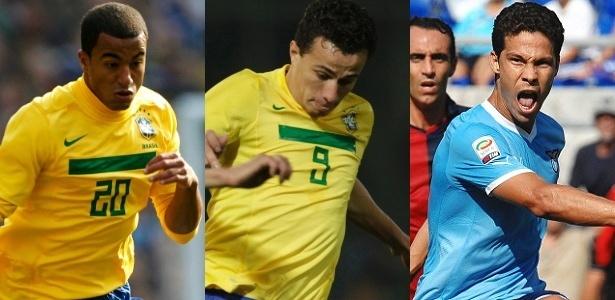 Lucas, Leandro Damião e Hernanes tiveram passagens rápidas na base alvinegra